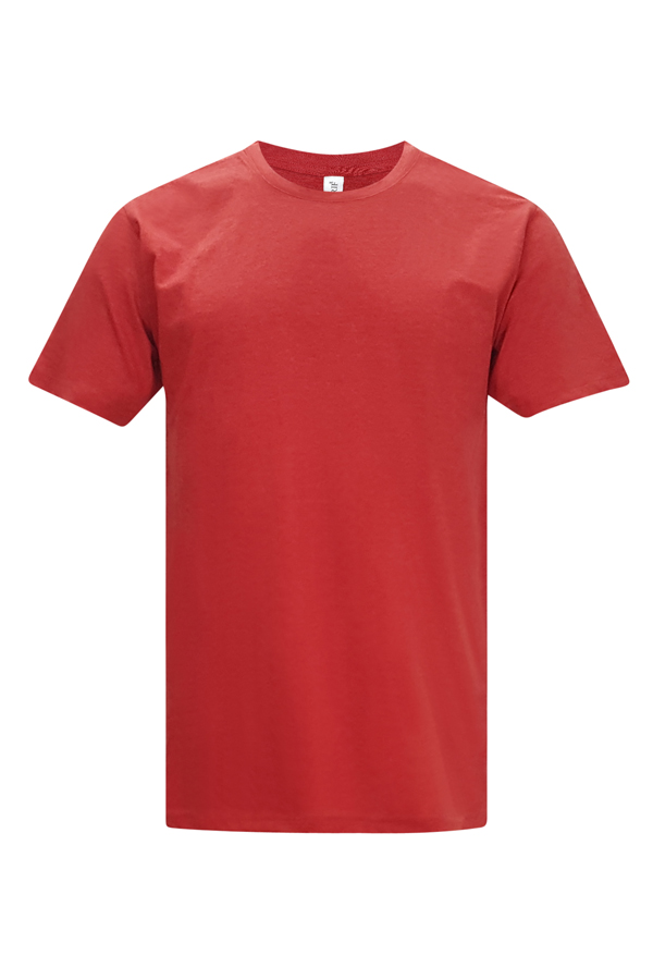 Vintage Round Neck - Red -T-shirt